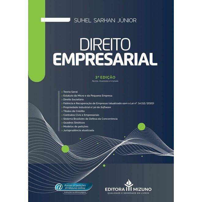 Livro Direito Empresarial 3ª Edição - Junior - Jh Mizuno