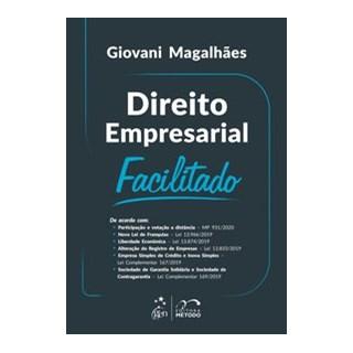 Livro - Direito Empresarial Facilitado - MAGALHAES 1º edição