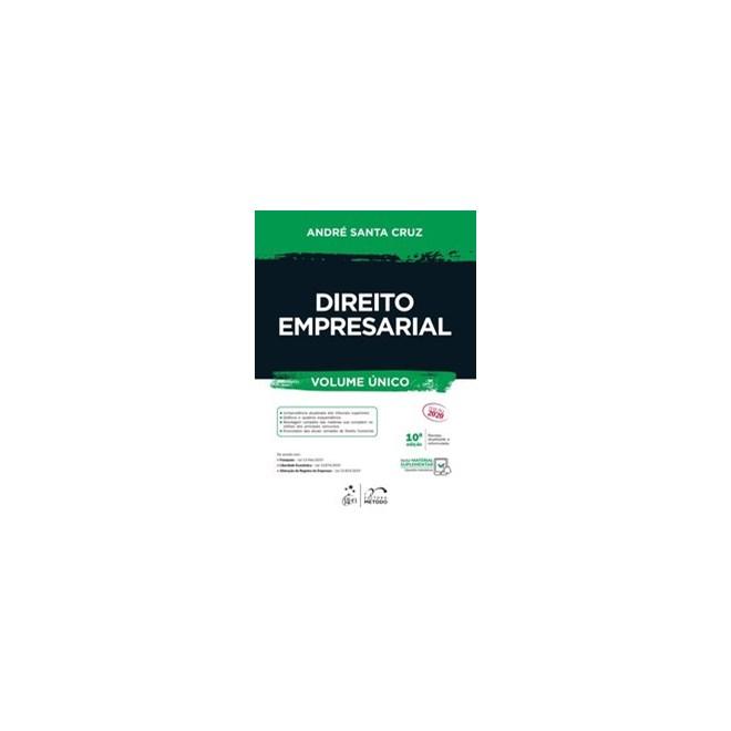 Livro - Direito Empresarial - Vol. Único - ANDRE LUIZ SANTA CRUZ RAMOS 10º edição