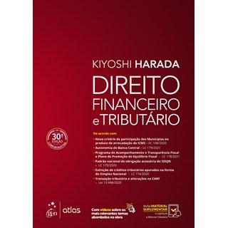 Livro Direito Financeiro e Tributário - Harada - Atlas