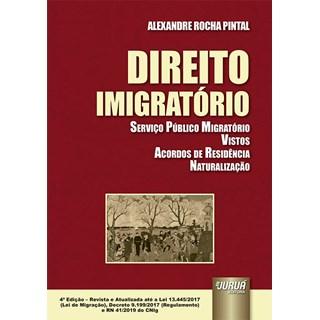 Livro - Direito Imigratório - Pintal - Juruá
