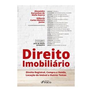 Livro - DIREITO IMOBILIÁRIO Direito Registral, Compra e Venda, Locação de Imóvel e Outros Temas - Gu