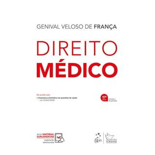 Livro - Direito Médico - França - Forense