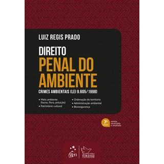 Livro - Direito Penal do Ambiente - Prado