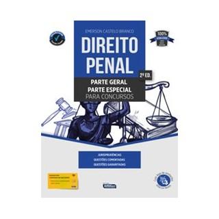 Livro - Direito Penal para Concursos - Castelo Branco 2º edição