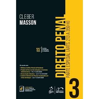 Livro - Direito Penal - Parte Especial - (Arts. 213 a 359-H) - Vol. 3 - MASSON 10º edição