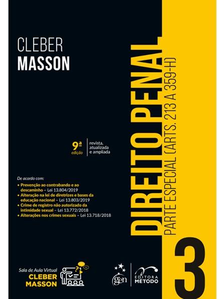 Livro - Direito Penal - Parte Especial - Vol.3 - Masson