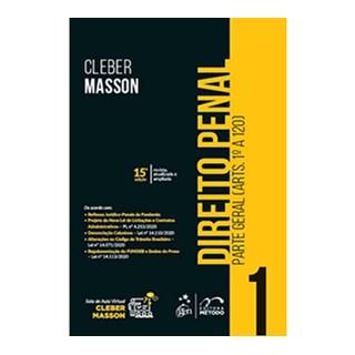 Livro - Direito Penal - Parte Geral (Arts. 1º a 120) - Vol. 1 - MASSON 14º edição