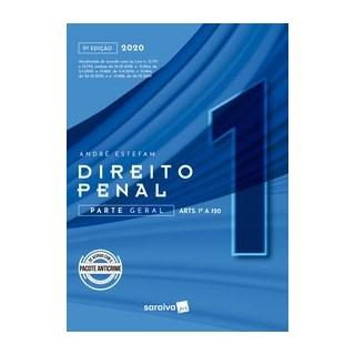 Livro - Direito Penal Parte Geral - Vol. 1 - 9ª edição de 2020 - Estefam 9º edição