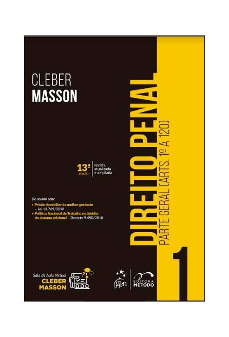 Livro - Direito Penal - Parte Geral - Vol.1 - Masson