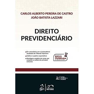 Livro Direito Previdenciário - Castro - Método