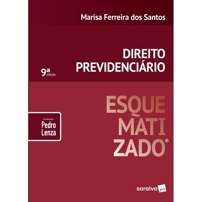 Livro - Direito Previdenciário Esquematizado - Saraiva