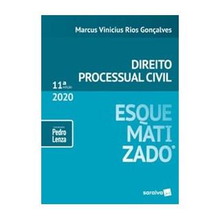 Livro - Direito Processual Civil esquematizado - 11ª edição de 2020 - Gonçalves 11º edição