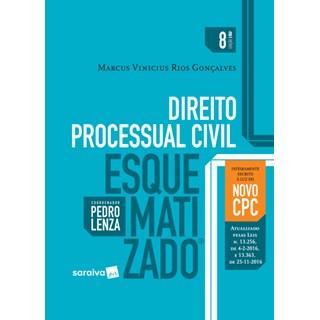 Livro - Direito Processual Civil Esquematizado - Gonçalves