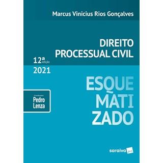 Livro Direito Processual Civil Esquematizado - Gonçalves - Saraiva