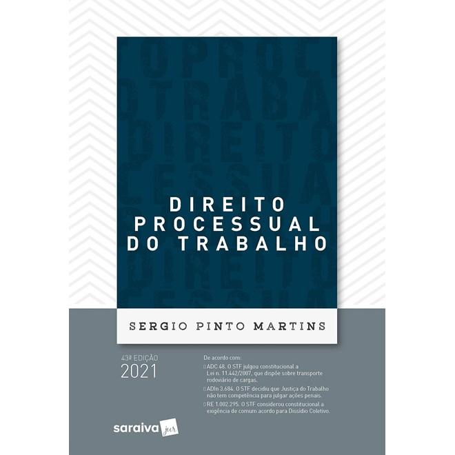 Livro - Direito Processual do Trabalho - 42ª Ed. 2020 - Martins 42º edição