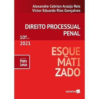 Livro Direito Processual Penal Esquematizado - Lenza - Saraiva