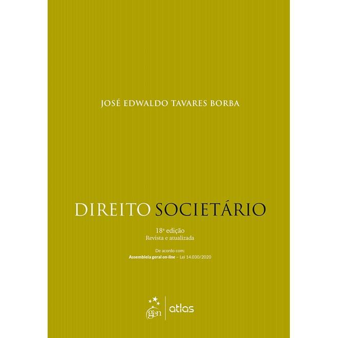 Livro Direito Societário - Borba - Atlas