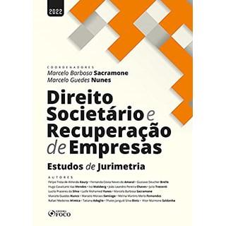 Livro Direito Societário e Recuperação de Empresas - Sacramone - Foco