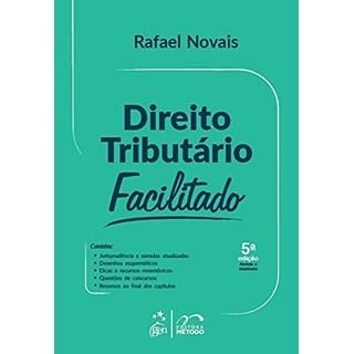 Livro Direito Tributário Facilitado - Novais - Método