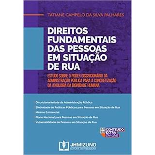 Livro - Direitos Fundamentais das Pessoas em Situação de Rua - Palhares - Jh Mizuno