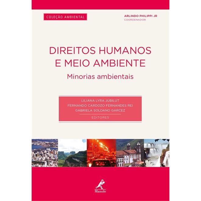 Livro - Direitos Humanos e Meio Ambiente - Minorias Ambientais - Jubilut