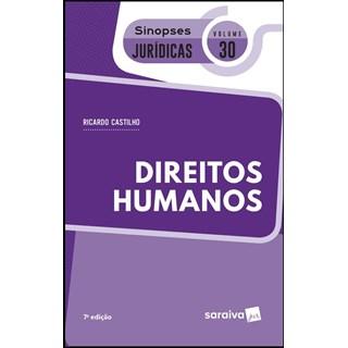 Livro Direitos Humanos - Vol. 30: Sinopses Jurídicas - Saraiva