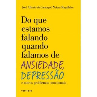 Livro - Do Que Estamos Falando Quando Falamos de Ansiedade, Depressão - Camargo - Autêntica