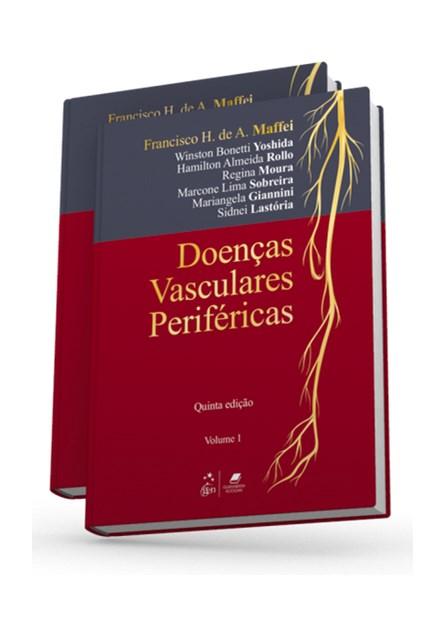 Livro - Doenças Vasculares Periféricas 2 vol - Maffei