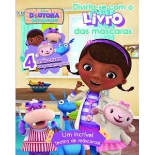 Livro - Doutora Brinquedos, Divirta-se com o Livro de Máscaras - Disney