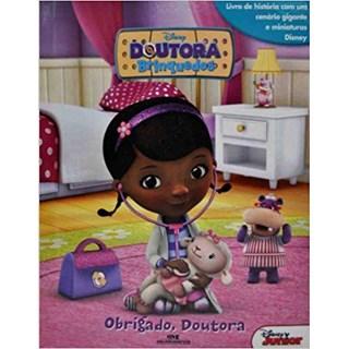 Livro - Doutora Brinquedos: Obrigado Doutora - Livro + Cenário + Miniaturas