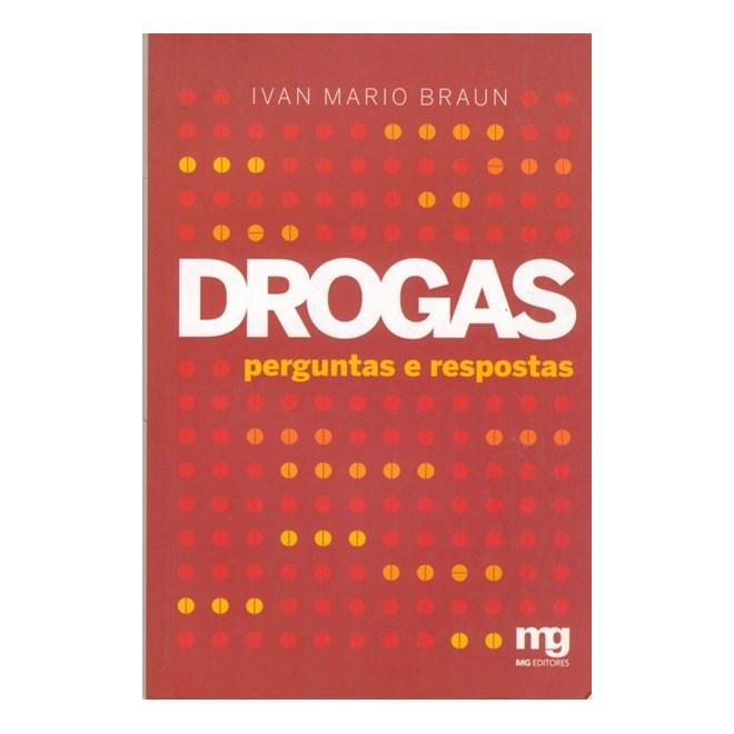 65d5263f1dfcc Livro - Drogas - perguntas e respostas - Braun - Livraria Florence