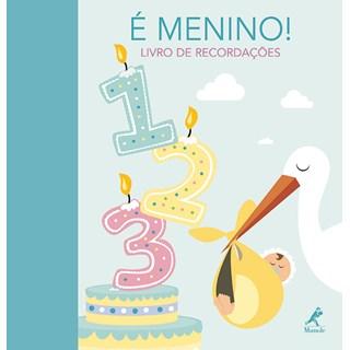 Livro - É menino! Livro de Recordações - Fabianis