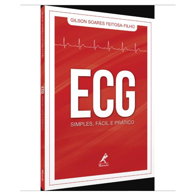 Livro - ECG Simples, Fácil e Prático - Feitosa-Filho