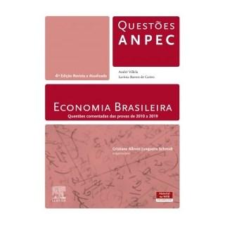 Livro - Economia Brasileira - Questões - Anpec - Castro