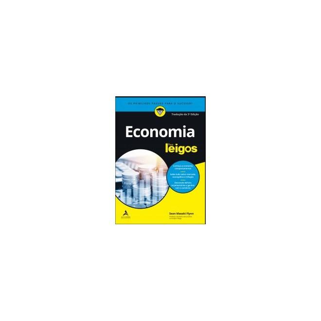 Livro - Economia Para Leigos - Flynn