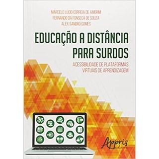 Livro - Educação a Distância para Surdos - Souza - Appris
