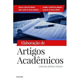 Livro - Elaboração de Artigos Acadêmicos - Estrutura, Métodos e Técnicas - Jabbour 1ª edição