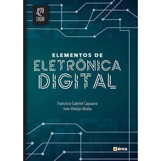 Livro Elementos de Eletrônica digital - 42ª Edição - Érica