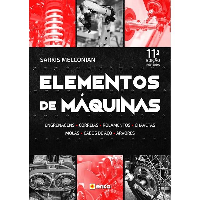 Livro - Elementos de Máquinas - Melconian - Érica