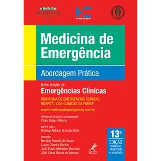 Livro - Emergências Clínicas - Abordagem Prática - USP - 2019