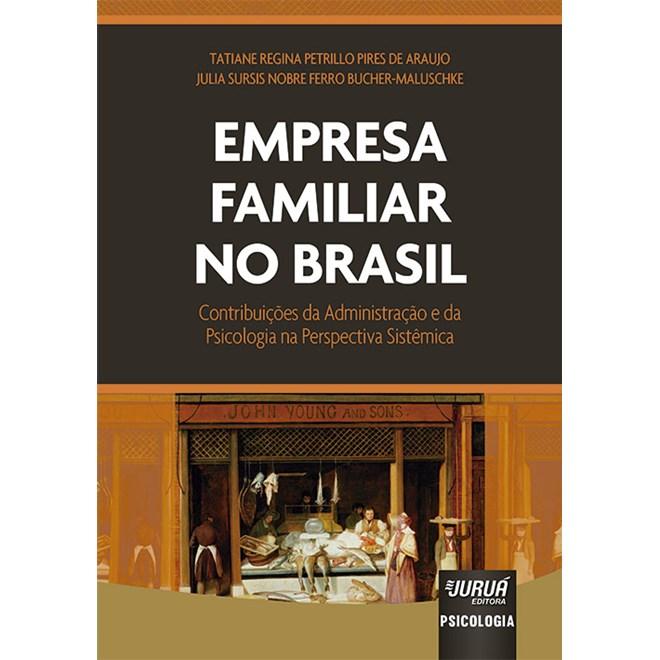 Livro - Empresa Familiar no Brasil - Araujo - Juruá