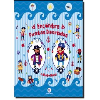 Livro - Encontre Piratas Divertidos e Muito Mais!