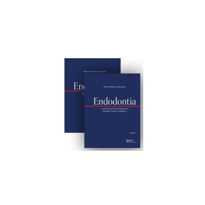 Livro - Endodontia - Tratamento de Canais Radiculares - 2 vol - Mario Leonardo