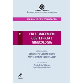 Livro Enfermagem em Obstetrícia e Ginecologia - Lara - Manole