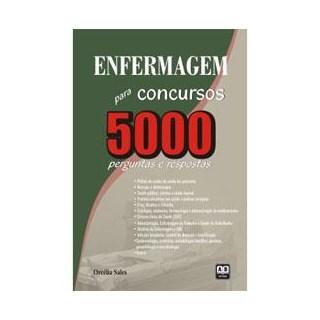 Livro - Enfermagem para Concursos - 5000 Perguntas e Respostas