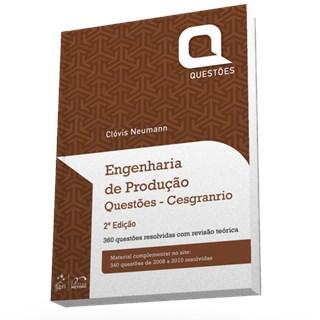 Livro - Engenharia De Produção - Questões Cesgranrio - Neumann