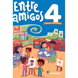 Livro Entre Amigos 4º ano - Moderna
