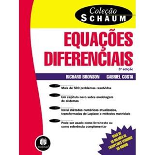 Livro - Equações Diferenciais - Coleção Schaum - Bronson