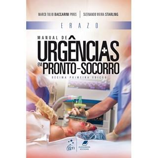 Livro - Erazo Manual de Urgências em Pronto-Socorro - Baccarini